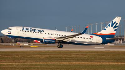TC-SUL - Boeing 737-85F - SunExpress