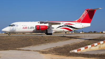 5A-FLA - British Aerospace Avro RJ100 - Air Libya