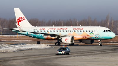 A picture of B8452 - Airbus A320214 - Loong Air - © PPengpeng