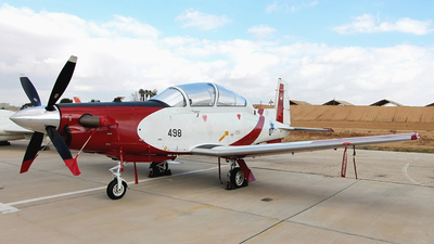 498 - Raytheon T-6A Efroni - Israel - Air Force