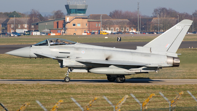 A picture of ZK352 - Eurofighter Typhoon FGR.4 -  - © Chris Andrew Barker