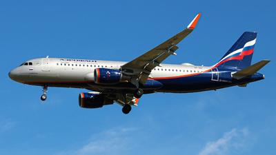 VP-BII - Airbus A320-214 - Aeroflot
