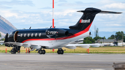 C-FGGF - Bombardier BD-100-1A10 Challenger 300 - Chartright Air