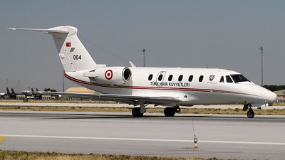004 - Cessna 560 Citation Ultra - Turkey - Air Force