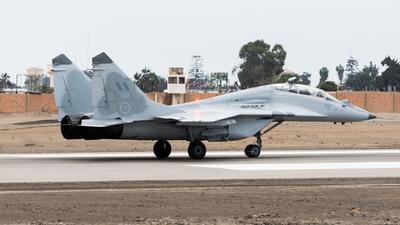 047 - Mikoyan-Gurevich MiG-29UB Fulcrum - Perú - Air Force