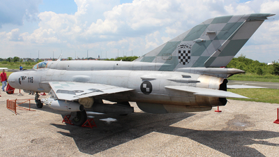 118 - Mikoyan-Gurevich Mig-21bisD Fishbed L - Croatia - Air Force