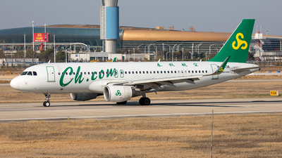 A picture of B8436 - Airbus A320214 - Spring Airlines - © Ji donghao