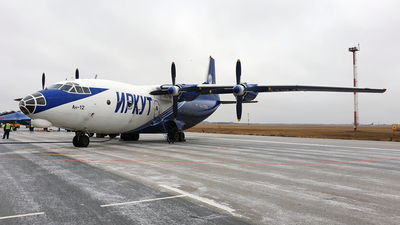 RA-11310 - Antonov An-12B - Irkut Corporation