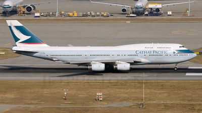 B-HOW - Boeing 747-467 - Cathay Pacific Airways