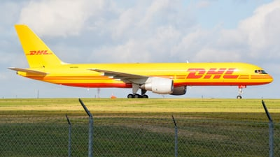 A picture of N620DL - Boeing 757232(PCF) - DHL - © Devin | Charleston.Spotter