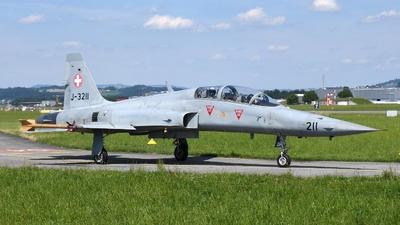 J-3211 - Northrop F-5F Tiger II - Switzerland - Air Force