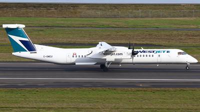 C-GWEU - Bombardier Dash 8-Q402 - WestJet Encore