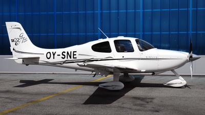 OY-SNE - Cirrus SR22-GTS - Private