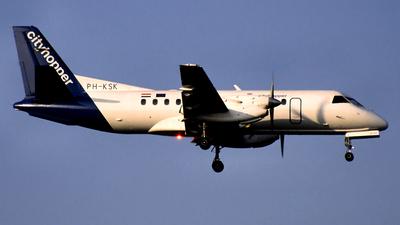 PH-KSK - Saab 340B - KLM Cityhopper