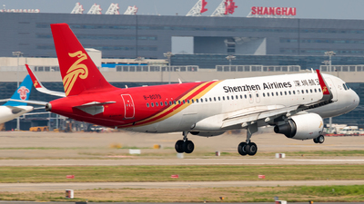 A picture of B8079 - Airbus A320214 - Shenzhen Airlines - © H.C.