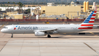 A picture of N519UW - Airbus A321231 - American Airlines - © Jason Whitebird