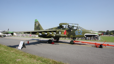 62 - Sukhoi Su-25UB Frogfoot - Ukraine - Air Force