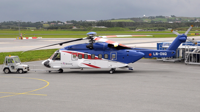 LN-ONQ - Sikorsky S-92A Helibus - Bristow Norway