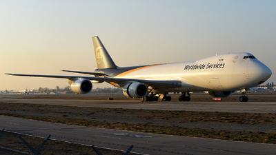N607UP - Boeing 747-84AF - United Parcel Service (UPS)