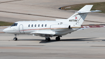 N977AV - Hawker Beechcraft 800XP - Private