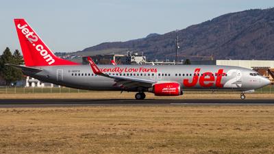 A picture of GGDFR - Boeing 7378Z9 - Jet2 - © David Schilcher