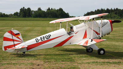 D-EFQP - CASA 1.131E-2000 Jungmann - Private