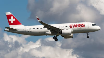A picture of HBJDA - Airbus A320271N - Swiss - © Matteo Buono