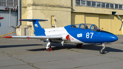 87 - Aero L-29 Delfin - SibNIA Airlines