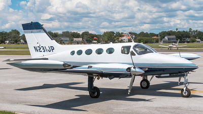 N231JP - Cessna 414 Chancellor - Private