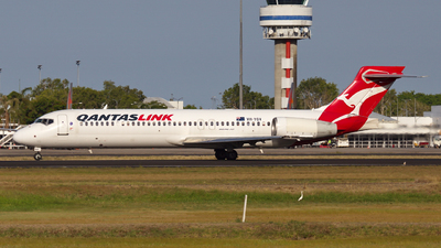 A picture of VHYQV - Boeing 7172BL - Qantas - © Dave Parer