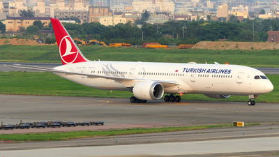 TC-LLC - Boeing 787-9 Dreamliner - Turkish Airlines