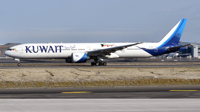9K-AOH - Boeing 777-369ER - Kuwait Airways