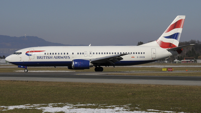 G-DOCN - Boeing 737-436 - British Airways