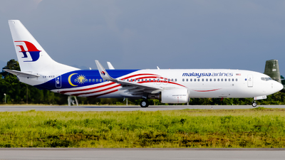 9M-MXB - Boeing 737-8H6 - Malaysia Airlines