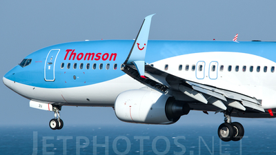 G-FDZU - Boeing 737-8K5 - Thomson Airways