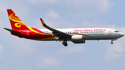 A picture of B7175 - Boeing 73786N - Hainan Airlines - © AGUIJUN-Lei