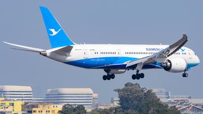 A picture of B2763 - Boeing 7878 Dreamliner - Xiamen Air - © Morrisssssssss