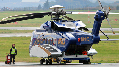 LN-OEC - Sikorsky S-92A Helibus - Norsk Helikopterservice