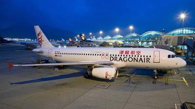 B-HSU - Airbus A320-232 - Dragonair