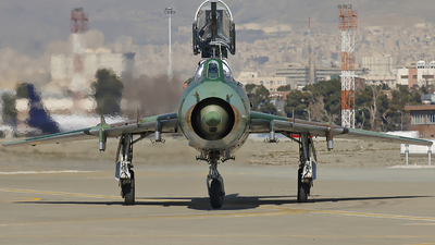 15-2464 - Sukhoi Su-22UM3K Fitter G - Iran - Revolutionary Guard