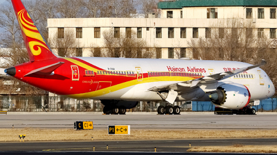 A picture of B206R - Boeing 7879 Dreamliner - Hainan Airlines - © yiran