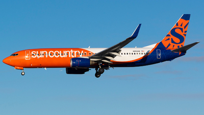 N861AM - Boeing 737-83N - Sun Country Airlines