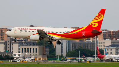 A picture of B5083 - Boeing 737883 - Hainan Airlines - © Jeppesen_Tu