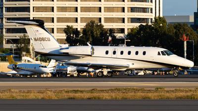 N406CU - Cessna 650 Citation VII - Private