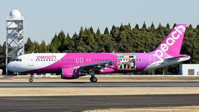 JA815P - Airbus A320-214 - Peach Aviation