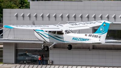 HK-5166-G - Cessna 172S Skyhawk SP - Escuela de Aviación Los Halcones