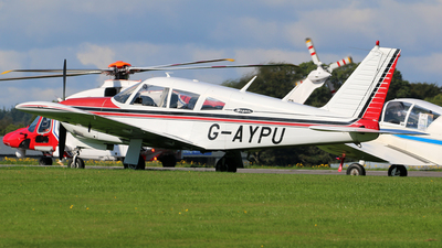 G-AYPU - Piper PA-28R-200 Cherokee Arrow B - Private