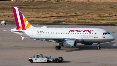 D-AKNK - Airbus A319-112 - Germanwings