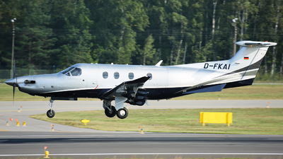 D-FKAI - Pilatus PC-12/47E - Private