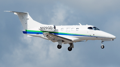 N129GD - Embraer 500 Phenom 100 - Private